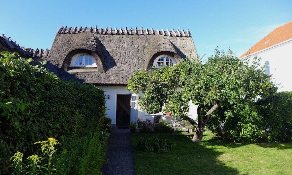 Reetdachhaus in Gilleleje, Dänemark