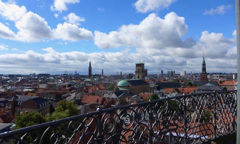 Kopenhagen von oben. Ausblick vom Rundetårn