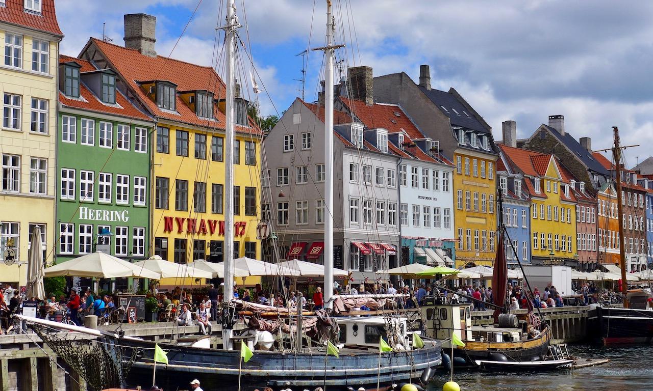 Die bunten Häuser vom Nyhavn, Kopenhagen