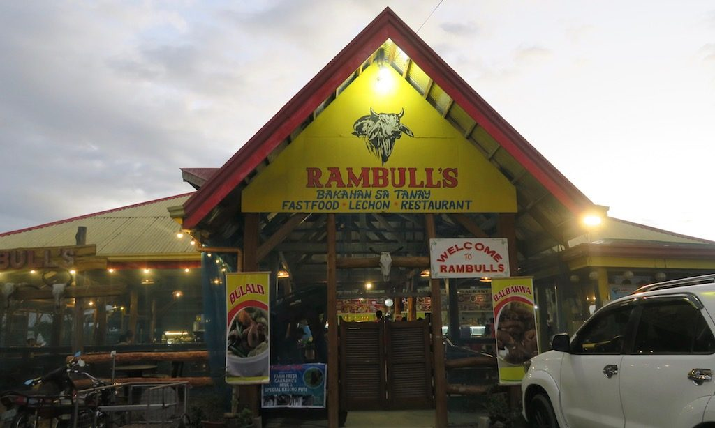Rambulls Restaurant in Tanay