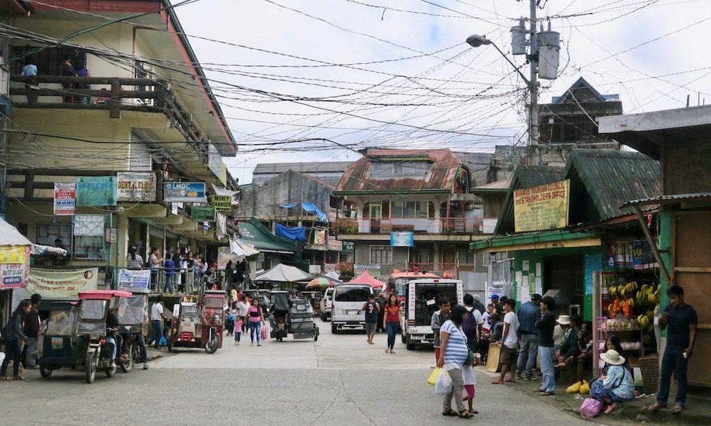 Das Ortszentrum von Banaue
