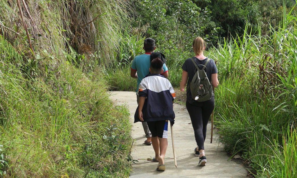 Der Fußweg nach Batad