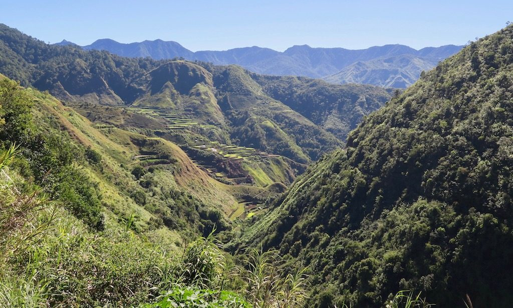 Blick in die Bergwelt von Buscalan