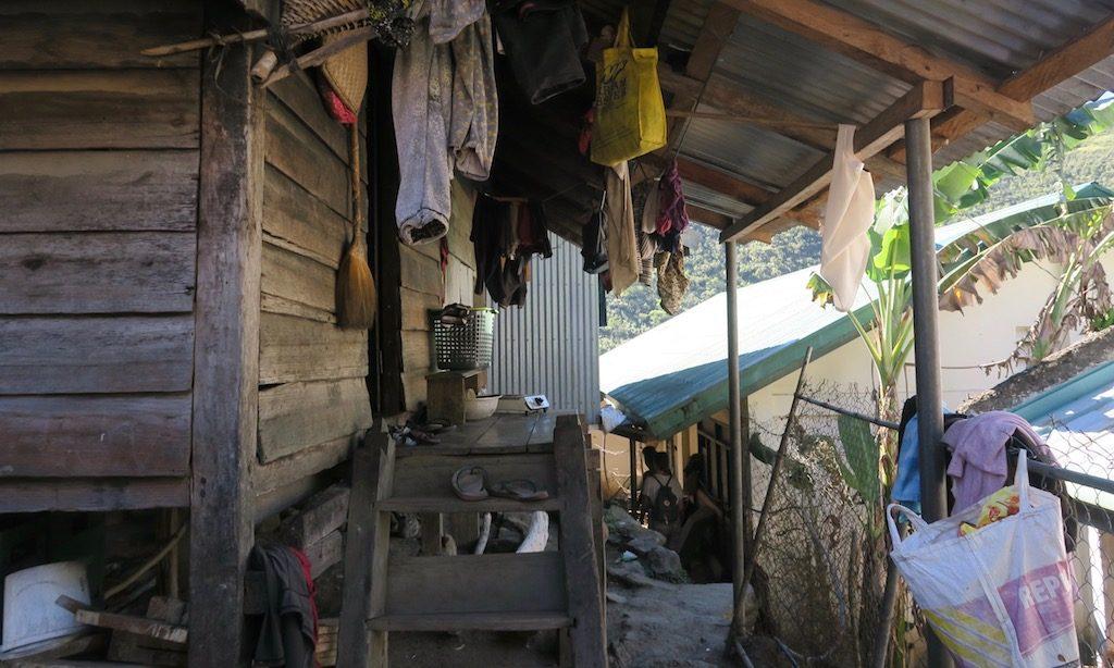 Häuser im Dorf Buscalan