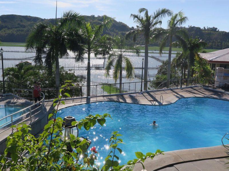 Pool-Nachmittag am Laguna de Bay (Tag 4: Tripreport Philippinen)
