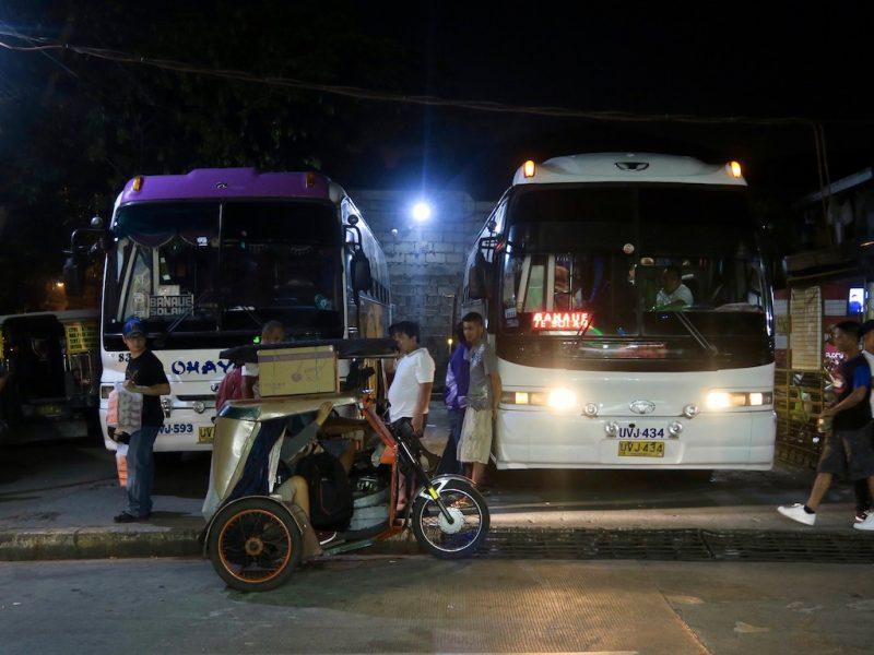 Mit dem Nachtbus von Manila nach Banaue (Tag 6: Philippinen Tripreport)