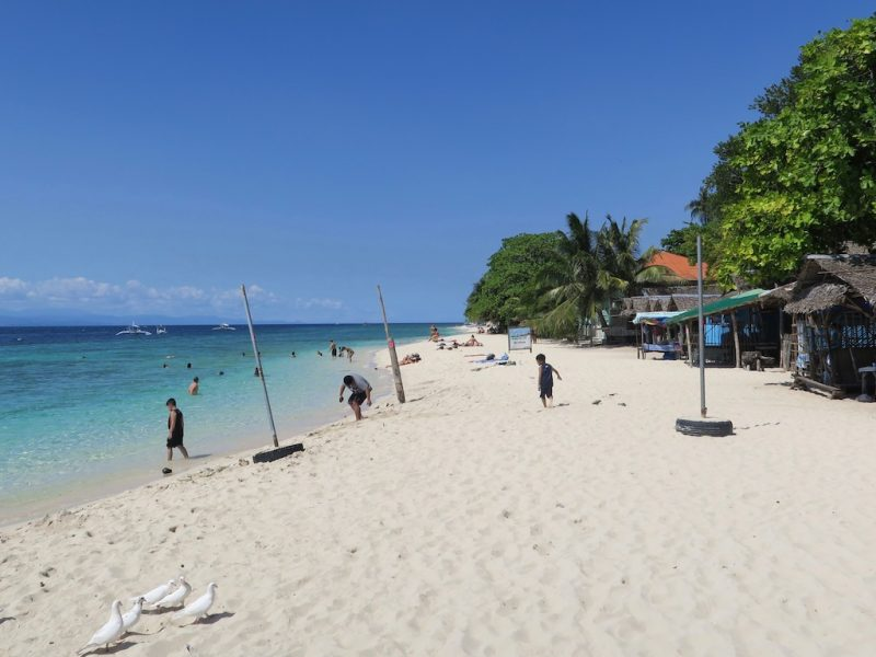 Schnorcheln am White Beach Moalboal und in Ronda (Tag 13: Tripreport Philippinen)