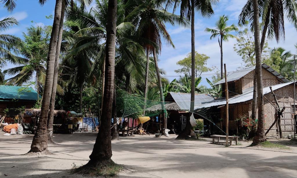 Das Dorfzentrum qu