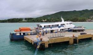 Ankunft im Hafen von Siquijor