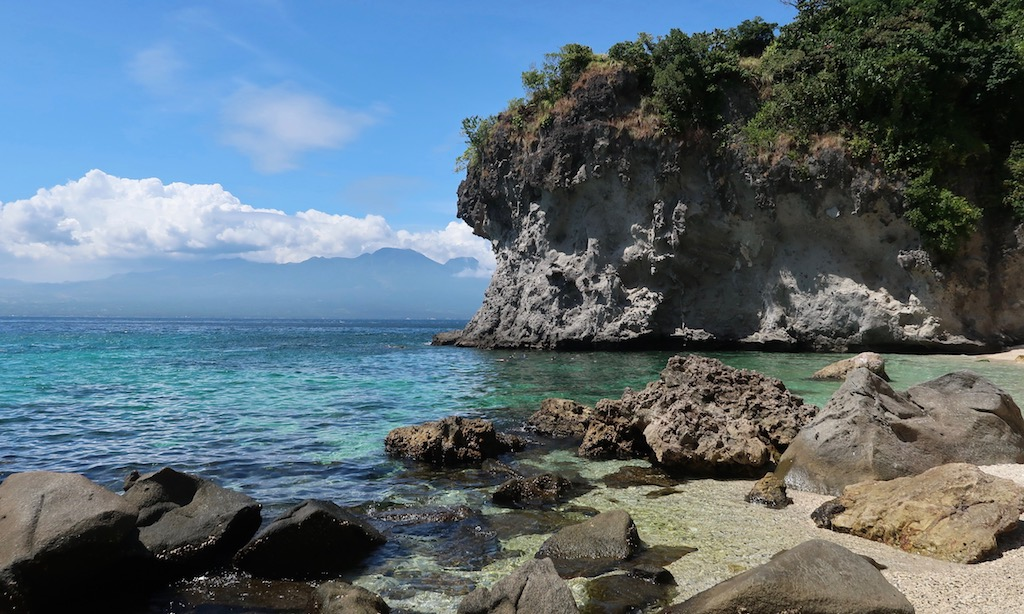 Traumbucht beim Apo Island Beach Resort