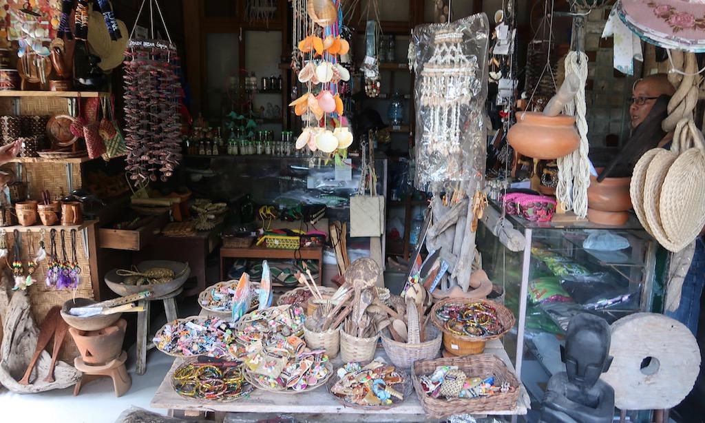 Souvenir Store in auf Siquijor