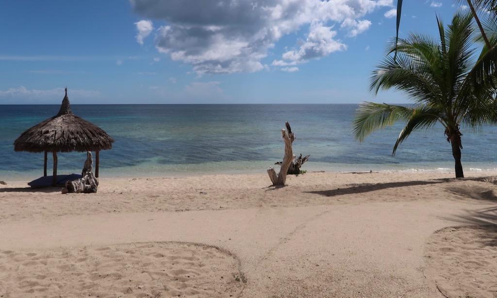 Tubod Beach Seaview vom Salamandas Restaurant