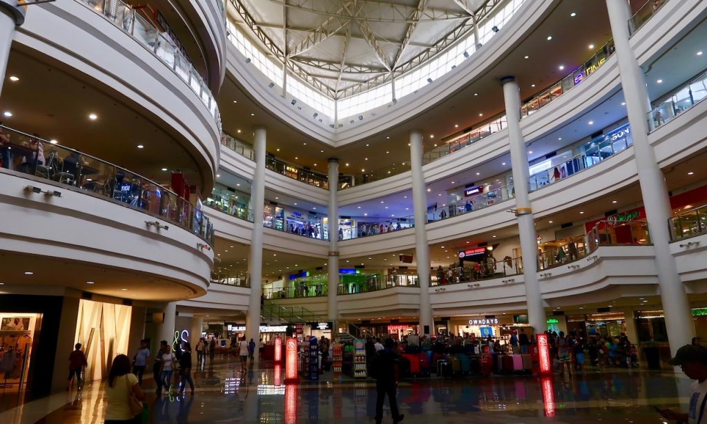Inside the Robinson Mall Manila