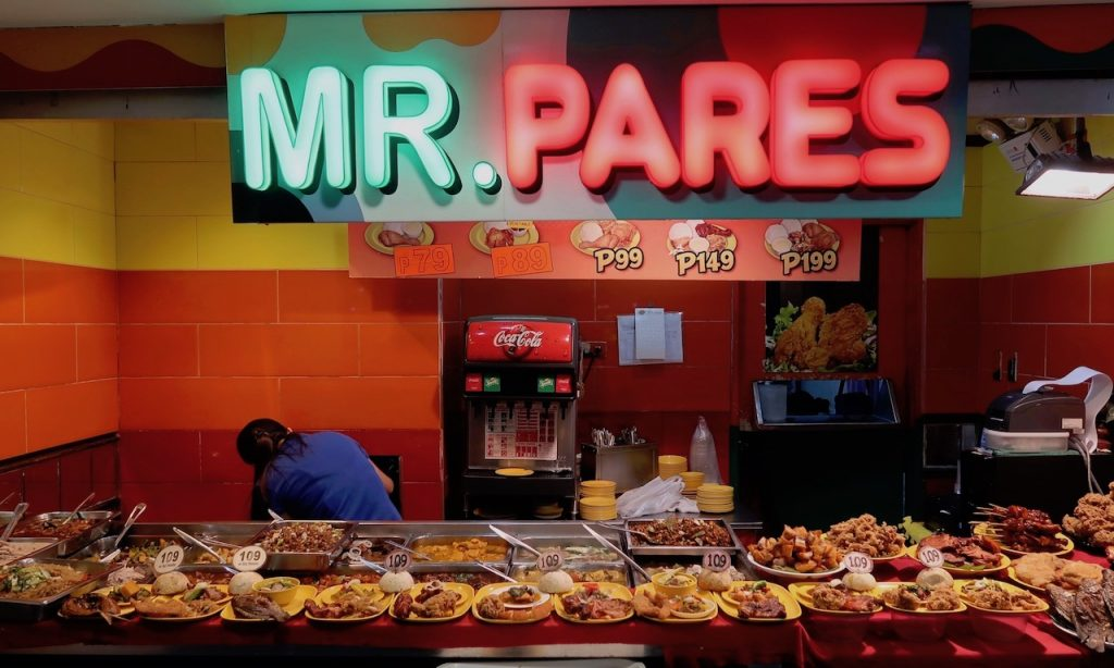 Mr. Pares in der Robinson Mall Manila