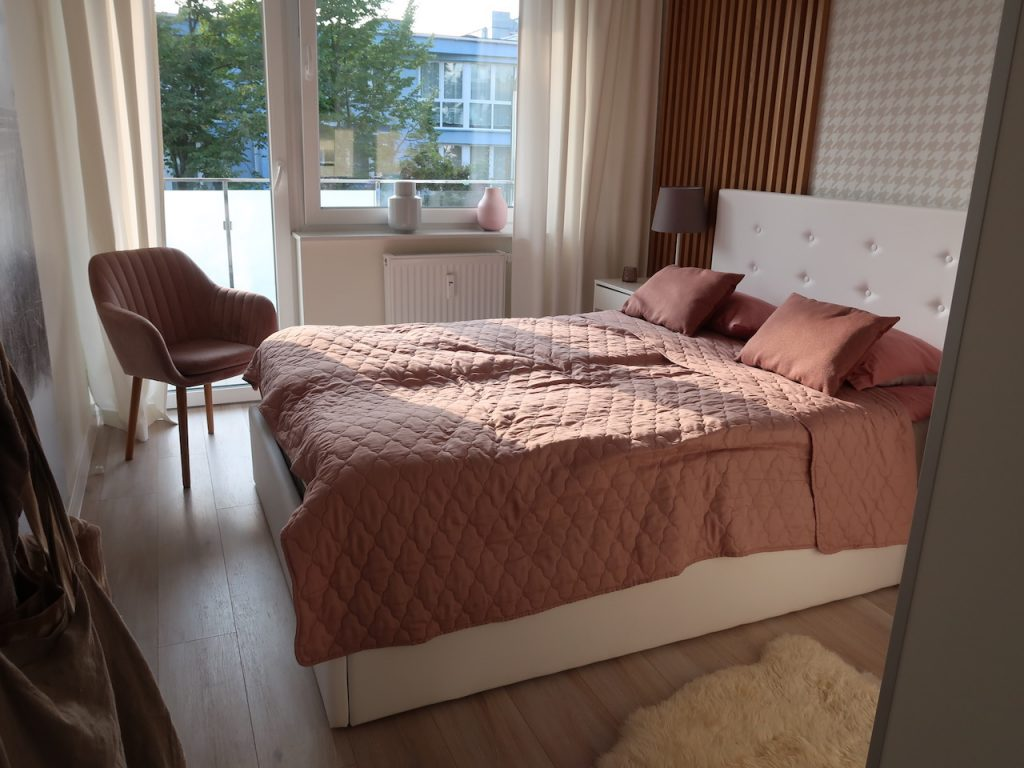 Appartment Blue Mare Blizej Morza Schlafzimmer