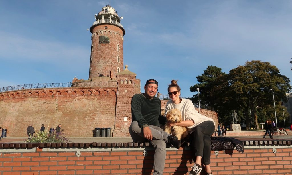 Kurzurlaub in Kolberg mit Hundewelpen im Corona-Herbst (Teil 1)